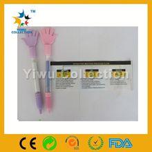 New design Fist shape retractable scrolling message ballpoint pen