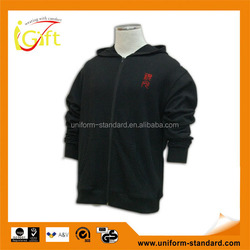 Lastest product IGift garment factory good quality wholesale thick fleece hoodie