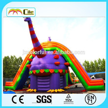 CILE Large Inflatable Dinosaur Castle