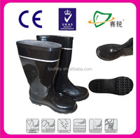 best selling rain boots for man ,high quality plastic safety boots