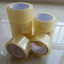 alibaba china water adhesive 110 Yds Length Clear Packaging Packing Sealing Tapes