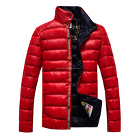 Red windproof outdoor clothing for men in winter 150212014