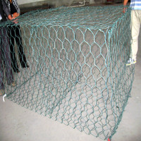 Woven Gabion Cage Stone Wall Gabion Cage Wire Basket on sale