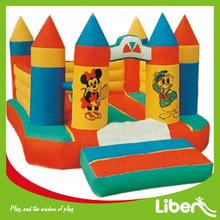 De dibujos animados inflables castillo inflable LE.CQ.013