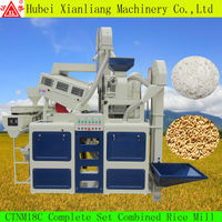 Chinese CTNM15 rice mill spare parts and new condition rice mill machine