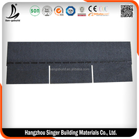 China Red Asphalt Roofing Shingle For Building Materials