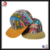 2015 Promotion Colorful Custom Suede Bill Snapback Hat