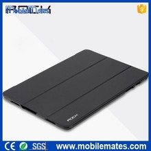for Samsung Galaxy Tab A ROCK Case, ROCK Skin Series Tri-fold Smart Wake Sleep PU Leather Case for Samsung Galaxy Tab A 9.7 T550