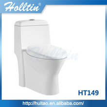 Cheap ceramic wholesale toilet S-trap one piece toilet bowl HT149