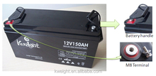 UPS battery 12V 150AH Deep Cycle battery manufucturer