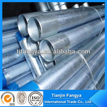 EMT Conduit And Fittings Carbon Steel Galvanized Tube Electrical Metallic Tubing UL Standard