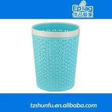 2015 trash recycling mini storage bins set,infrared sensor waste bin,corrugated plastic dustbin