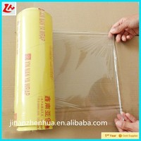factory manufacture pvc cling food wrap film,food plastic wrap Food Grade Pe Cling Film Pvc Stretched Film