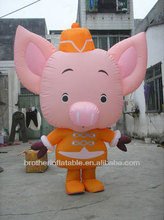 Cute inflatable pig inflatable walking animal cartoon character
