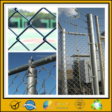 China Wholesale Galvanized / plastic Coated Chain Link Fence / diamond wire mesh fence