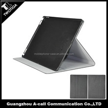wood grained leather cover for ipad 7 two level standing cover for ipad 7