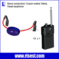 H-902 Underwater Bone Conduction Wireless Headphone Transmitter Receiver with Music MP3 Player and FM for Swimming Coach