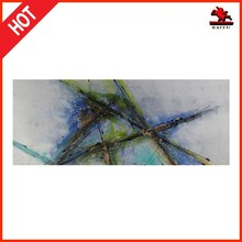 Modern handmade oil painting with high gloss abstract oil painting