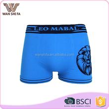 Woven shorts high quality custom printing men wearing ladies underwear
