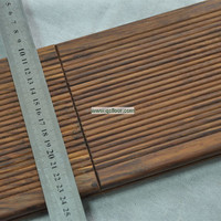 20mm thickness wholesale carbonized outdoor bamboo deck flooring