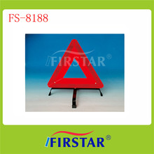 disaster kit including din13164 warning triangle and safety vest for truck