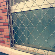 safety and security hot dipped galvanized or electric galvanized grid fence for window