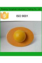 HDL-7552 yellow oval shape antiburst bouncer ball