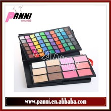 Professional 72 color eyeshdow&blush all shimmer high pigment