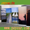 economic roll up stand/ roll up 85*200 roll up banner display by Mandy
