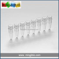 China Wholesale 0.2ml pcr tube 8 strips