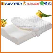 fashion home textile Hydrophilic aloe vera memory foam pillow