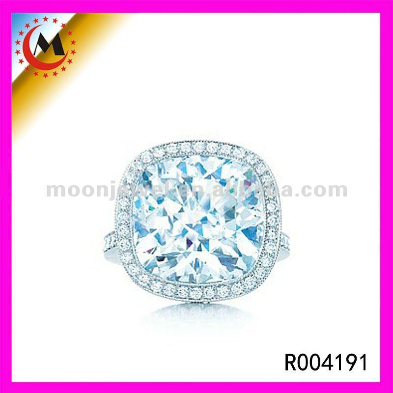 Rings aquamarine man made gemstone rings jewellery buy for Man made sapphire jewelry