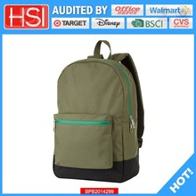 audited factory wholesale price very loving or loyal polyester school bag