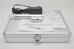 Risen Beauty New Model Rechargeable Battery Electric Derma Pen with Aluminium Alloy Box