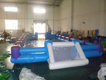 large inflatable football field , LZ-236 inflatable football pitch /inflatable football field/inflatable soccer pitch for adults