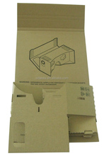 HOT! Best selling pre-assembling cardboard google for cellphones google glasses