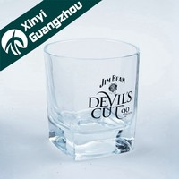 Hot sell high quality 200ml whiskey glass / whisky tumbler