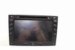 Car radio 2 din for renault megane ii with CE/ROHS certificates