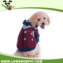 British Style XXX Small Dog Clothes Winter Dog Coat