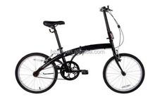 2015 Mini Style Hi-ten Steel Frame Folding Bike Single Speed Folded Bike