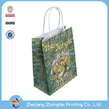 2015 New fancy custom logo printed shopping bag ,gift bag,paper bag with handle
