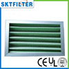 G4 efficiency washable panel pre filter for air