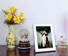 ps/plastic 3D digital photo/picture frame for couples for wedding