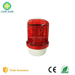 solar flashing led traffic emergency beacon light