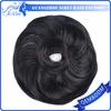Easy To Care Wholesale hair bun brown,black hair chignon,messy hair bun