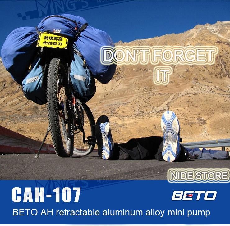 велосипед аксессуары алюминиевого сплава велосипедного велосипедов портативный мини-насос велосипед воздушный насос
