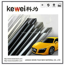0.5*90m,0.75*30m/roll high clear black color and grey color car window film