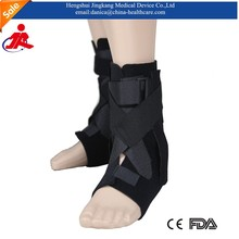 2015 New products Tubular design easy to put on and off ankle brace neoprene ankle support