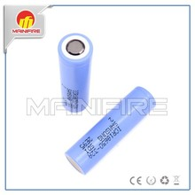 Rechargeable ICR18650 32A 3200mAH 3.7V Electronic cigarette battery vs MXJO 18650 battery