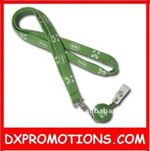 retractable lanyard with retractable badge holder